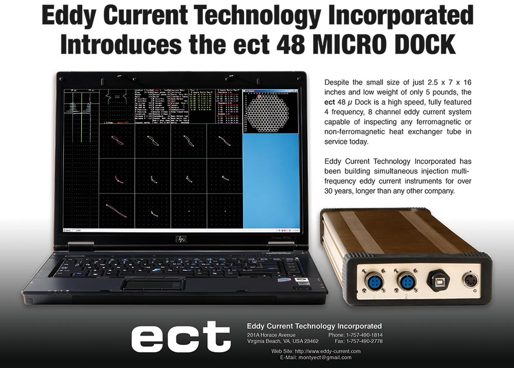 ect 48 micro dock eddy current system
